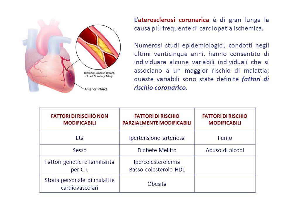 L'aterosclerosi coronarica è di gran lunga la causa più frequente di cardiopatia ischemica.