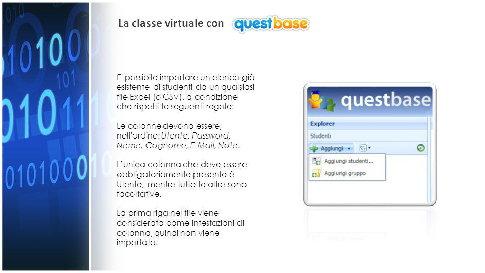 La classe virtuale con