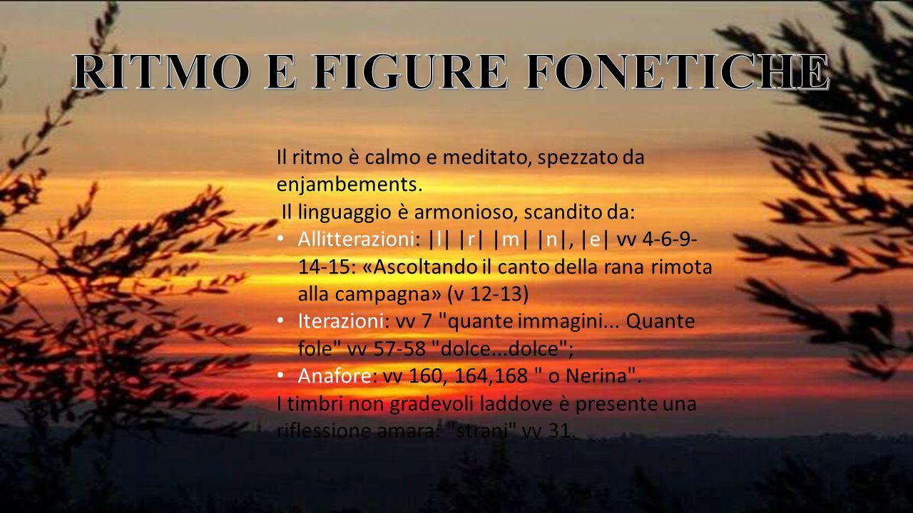 RITMO E FIGURE FONETICHE