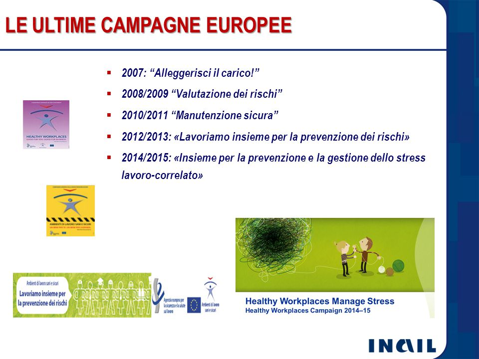 LE ULTIME CAMPAGNE EUROPEE