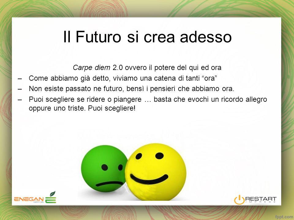 Il Futuro si crea adesso