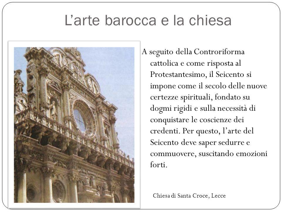 L'arte barocca e la chiesa