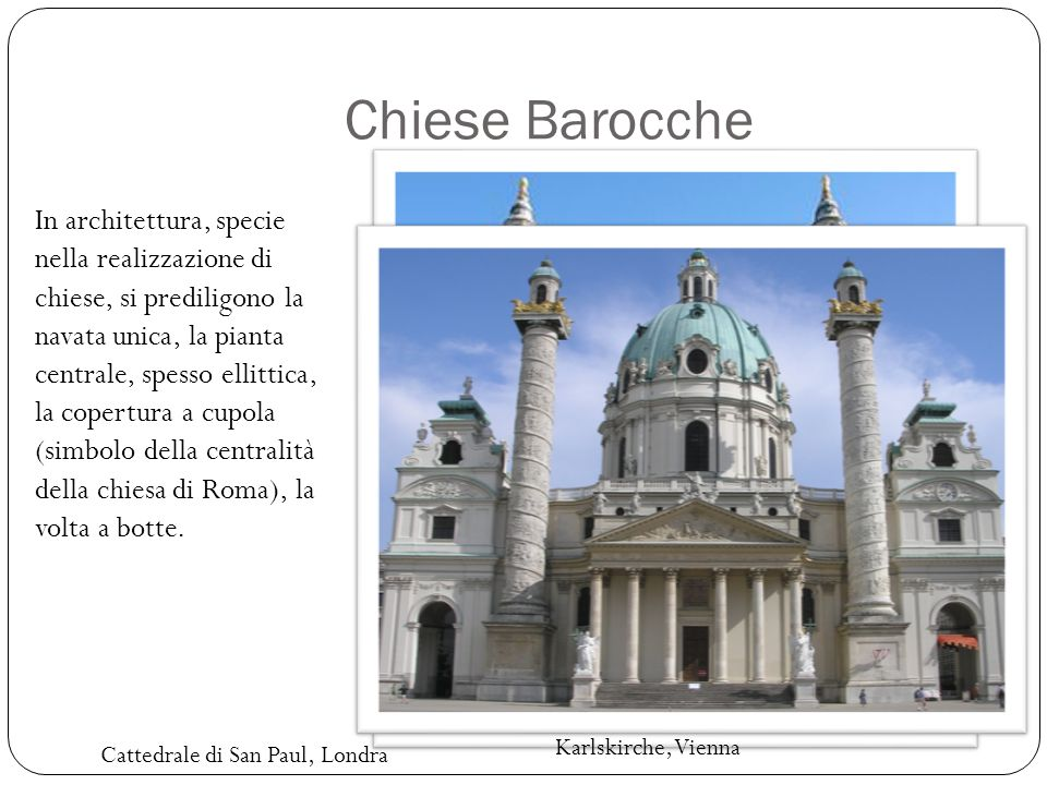 Chiese Barocche