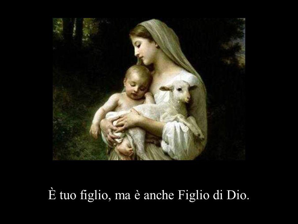 È tuo figlio, ma è anche Figlio di Dio.