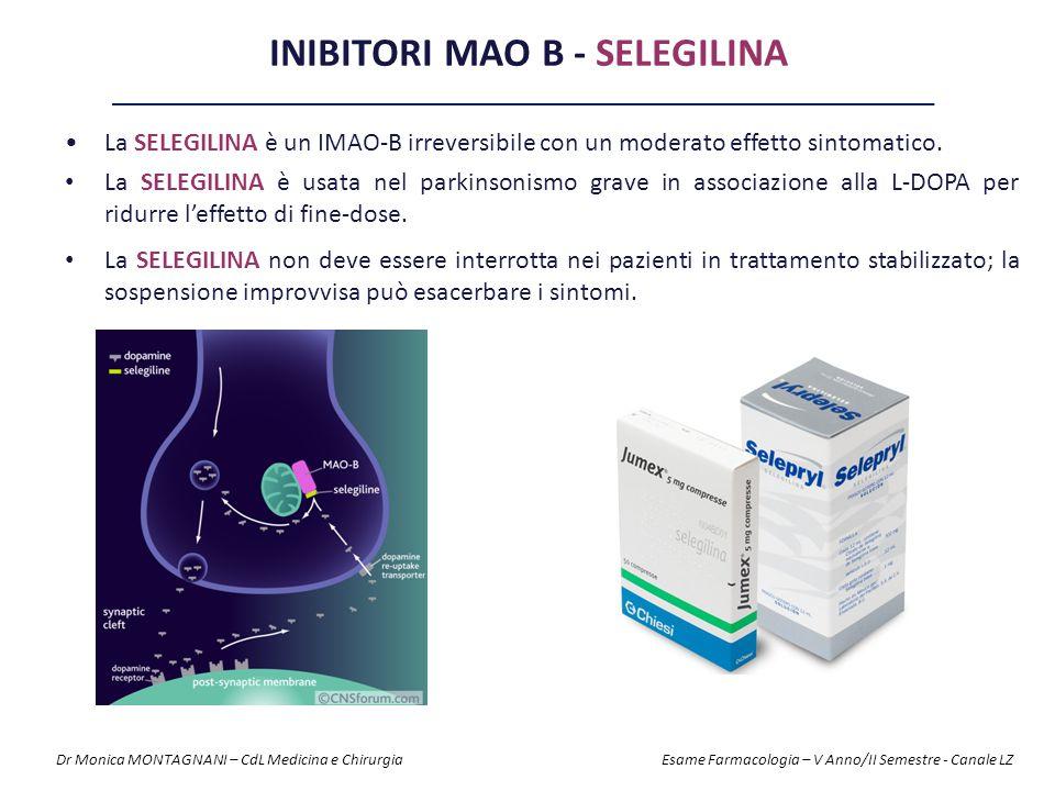 Inibitori MAO B - Selegilina