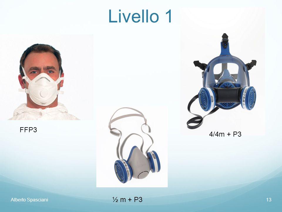Livello 1 FFP3 4/4m + P3 Alberto Spasciani ½ m + P3