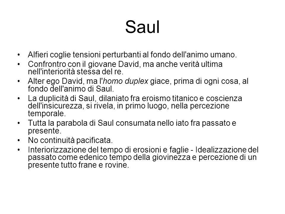 Saul Alfieri coglie tensioni perturbanti al fondo dell animo umano.