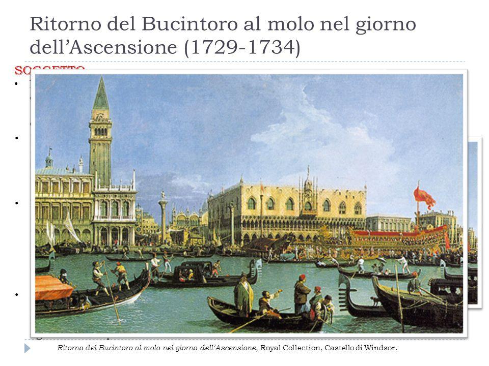 Ritorno del Bucintoro al molo nel giorno dell'Ascensione (1729-1734)