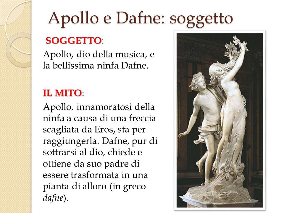 Apollo e Dafne: soggetto