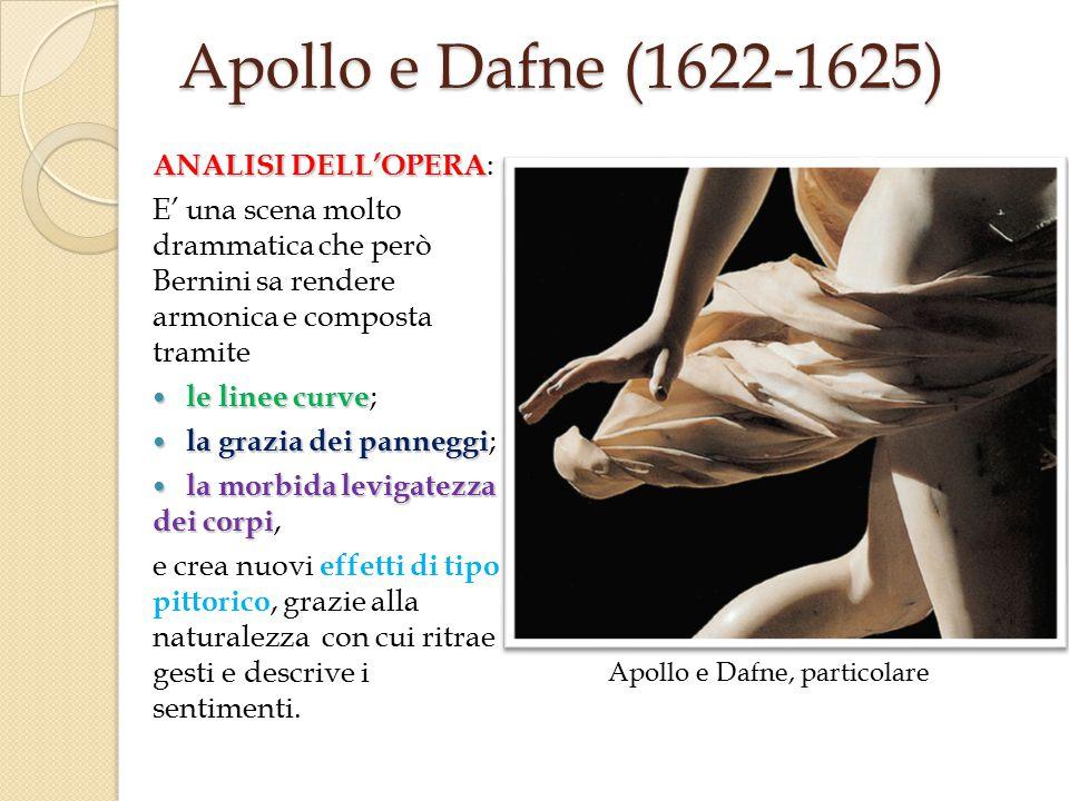 Apollo e Dafne, particolare