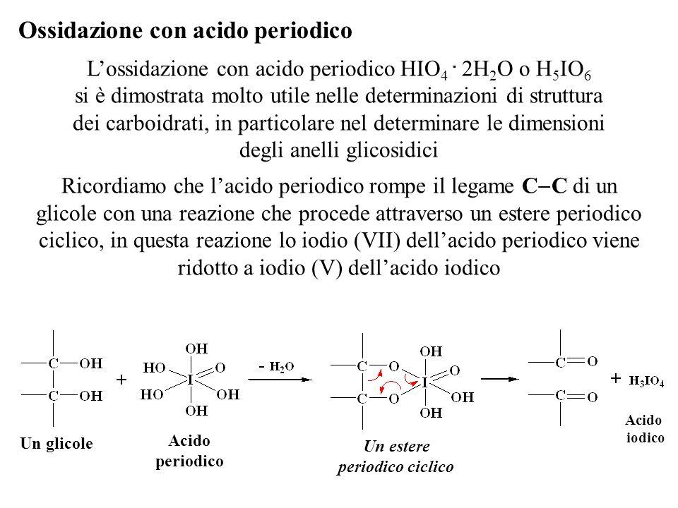 Ossidazione con acido periodico