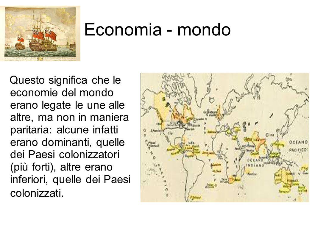Economia - mondo