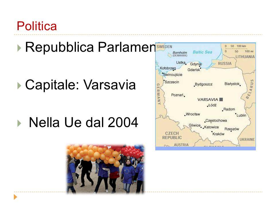 Repubblica Parlamentare Capitale: Varsavia Nella Ue dal 2004