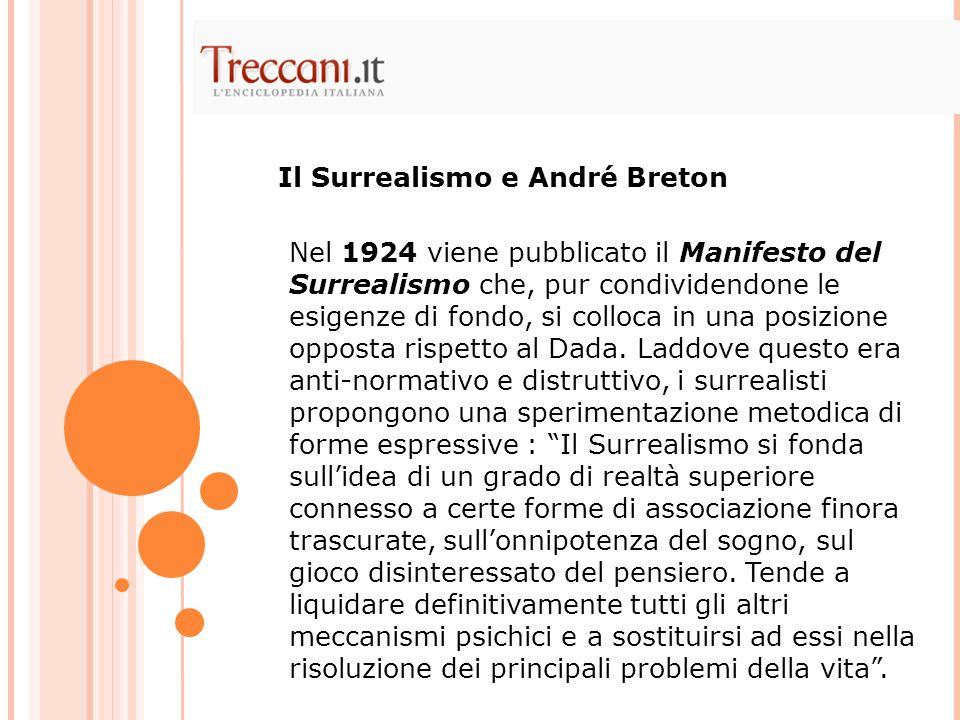 Il Surrealismo e André Breton