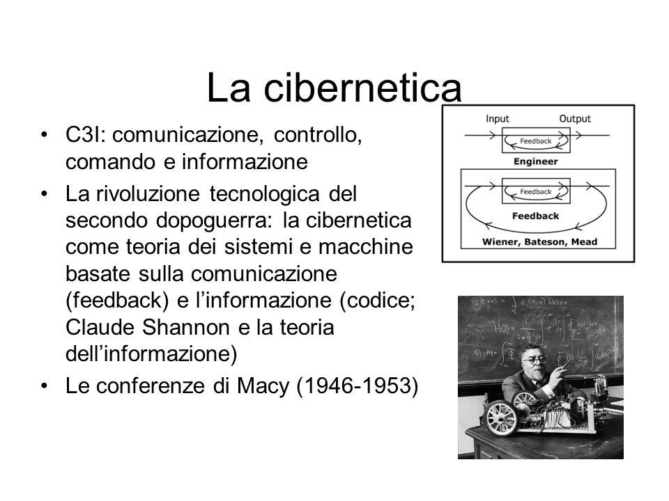 La cibernetica C3I: comunicazione, controllo, comando e informazione
