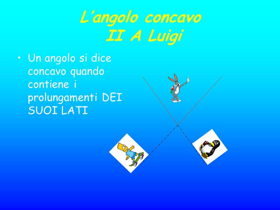 L'angolo concavo II A Luigi