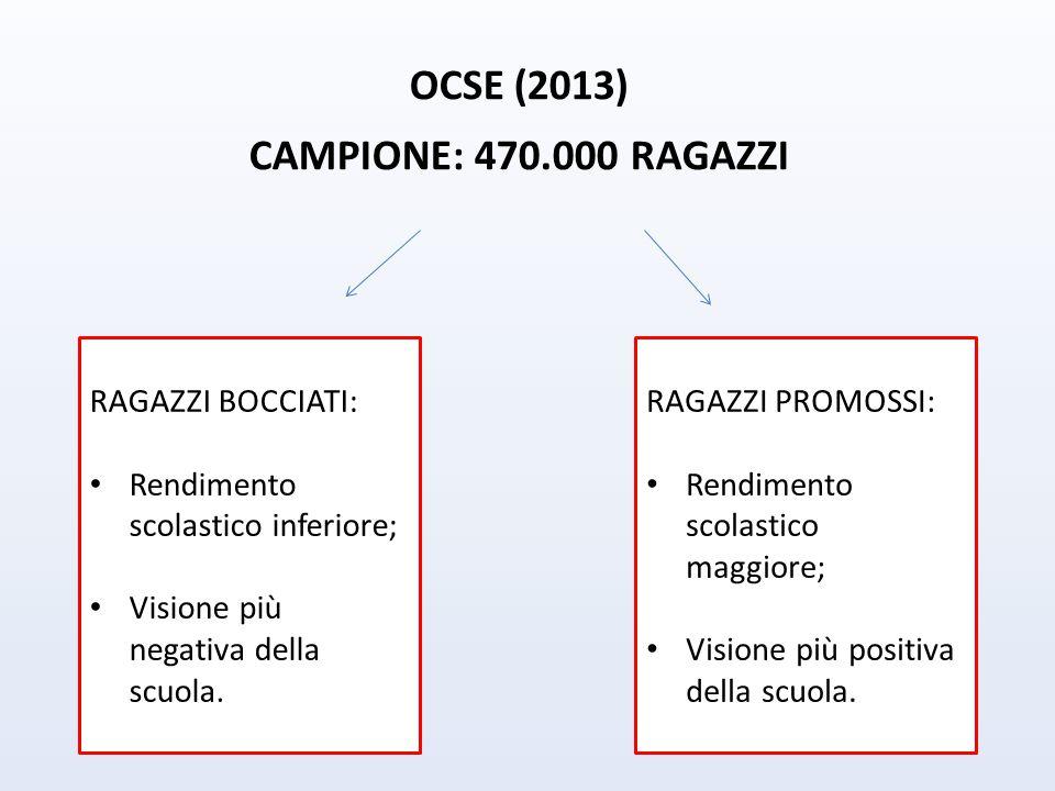 OCSE (2013) CAMPIONE: 470.000 RAGAZZI