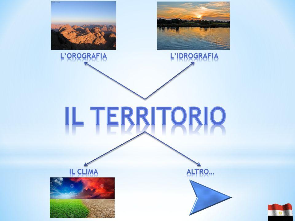 L'orografia L'idrografia Il territorio Il clima Altro…