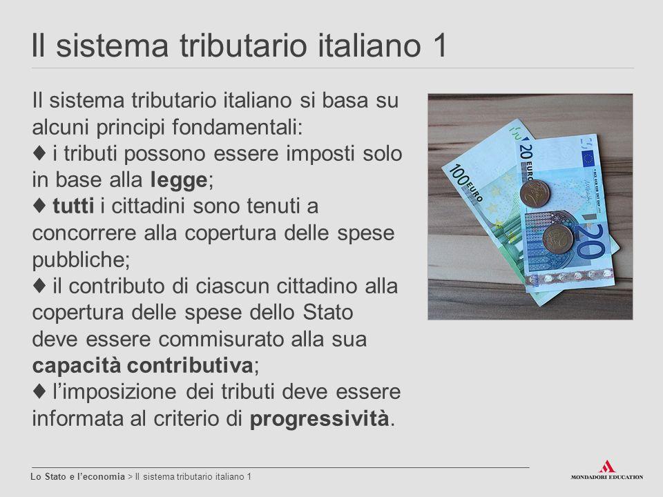Il sistema tributario italiano 1