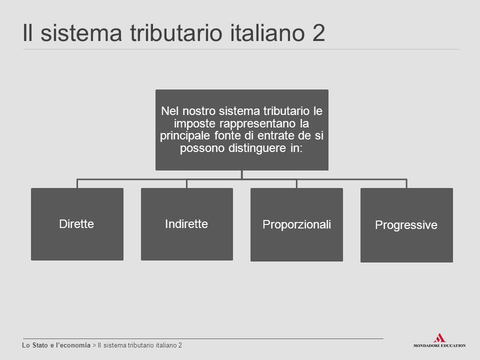 Il sistema tributario italiano 2