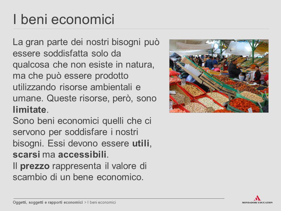 I beni economici