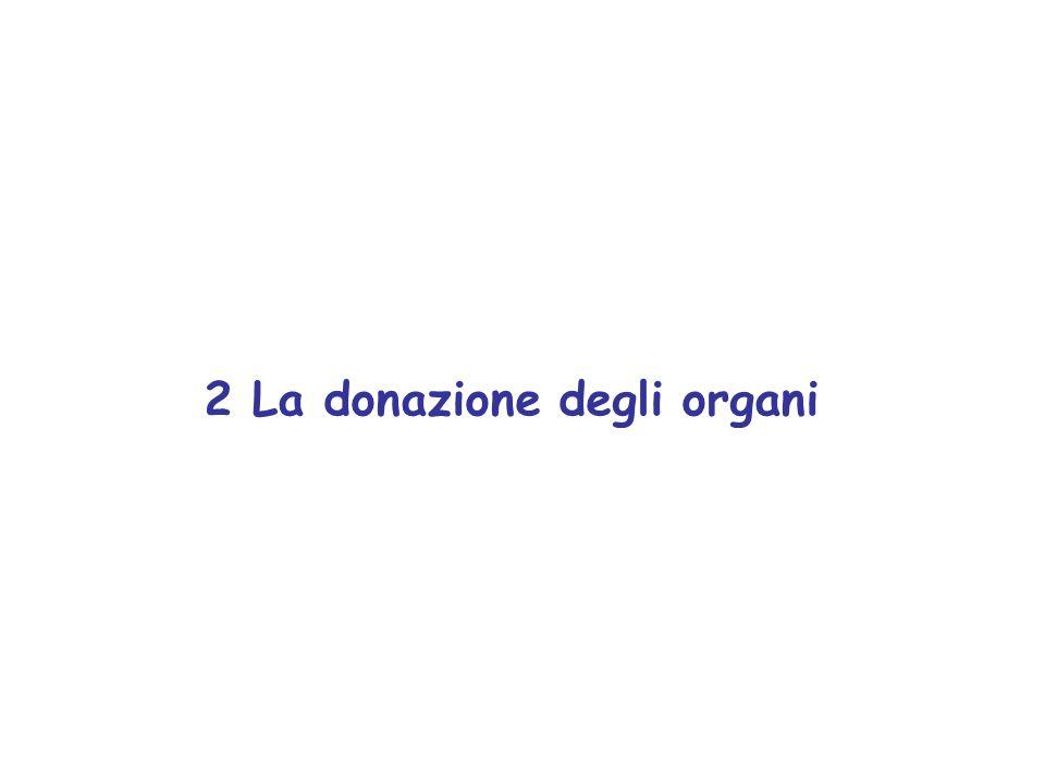 2 La donazione degli organi