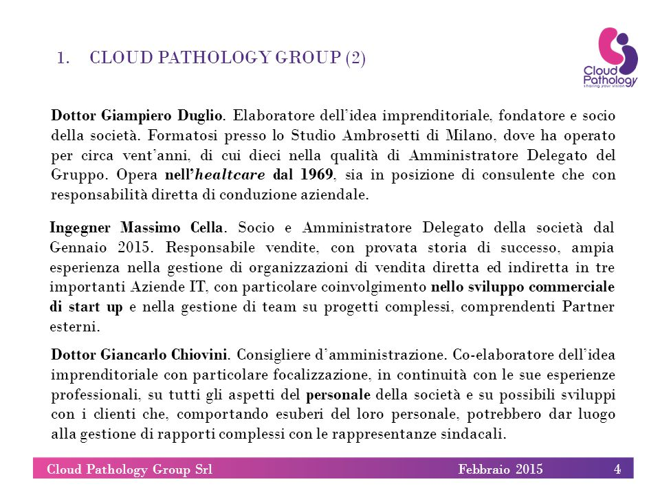 Cloud Pathology Group Srl
