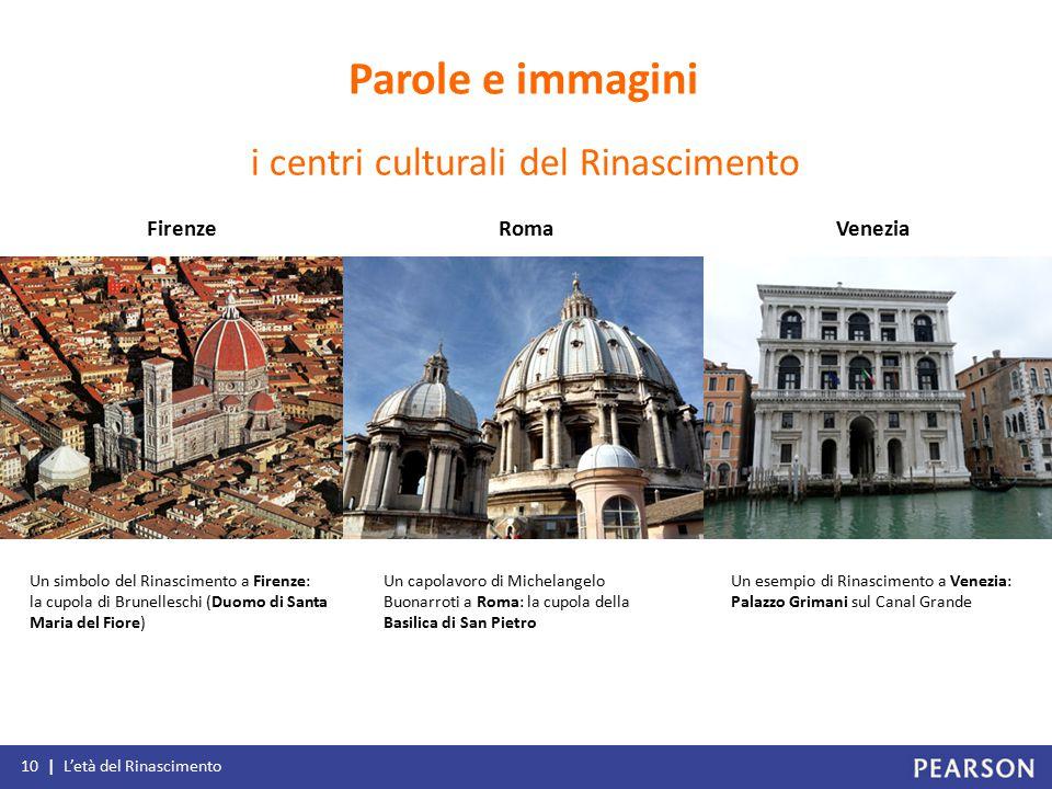i centri culturali del Rinascimento