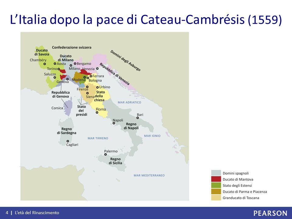 L'Italia dopo la pace di Cateau-Cambrésis (1559)