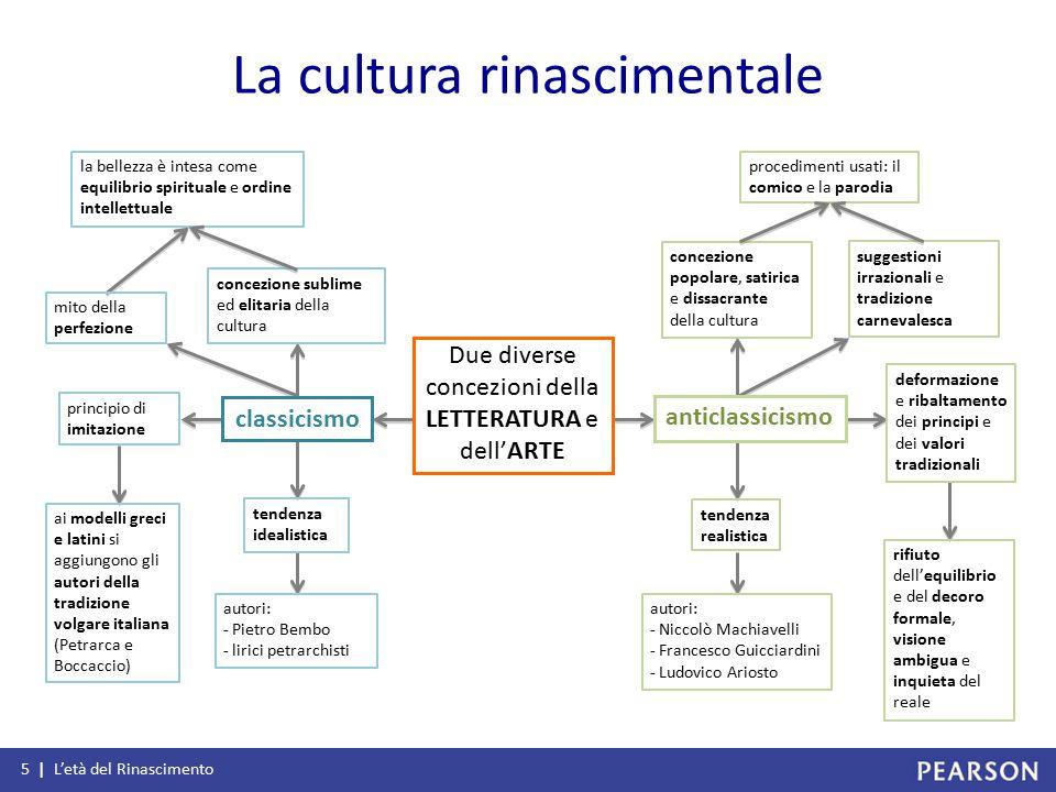 La cultura rinascimentale