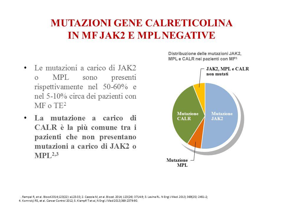 MUTAZIONI GENE CALRETICOLINA IN MF JAK2 E MPL NEGATIVE