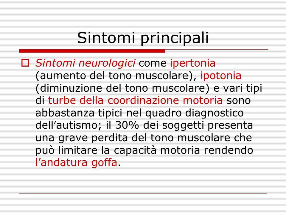 Sintomi principali