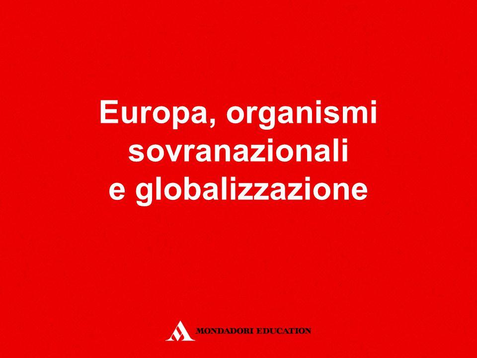 Europa, organismi sovranazionali