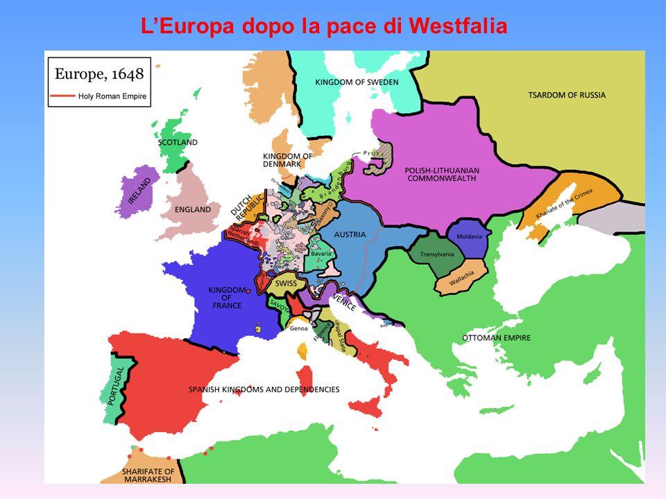 L'Europa dopo la pace di Westfalia
