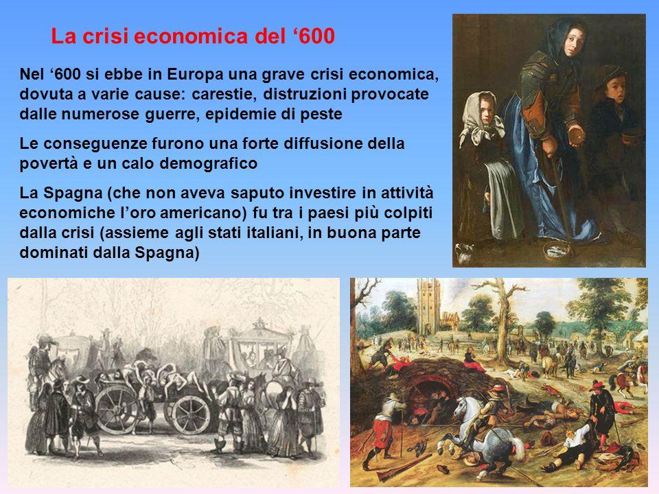 La crisi economica del '600