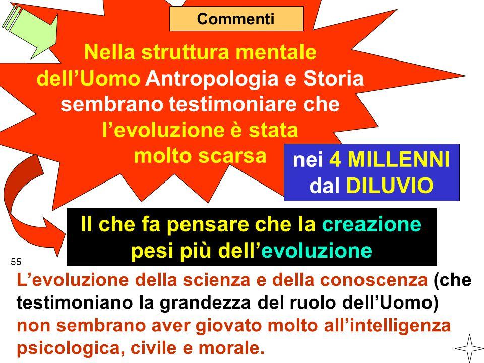 Nella struttura mentale dell'Uomo Antropologia e Storia