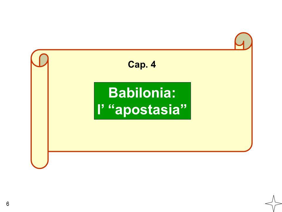 Babilonia: l' apostasia