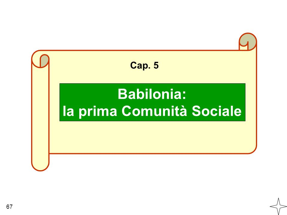 la prima Comunità Sociale