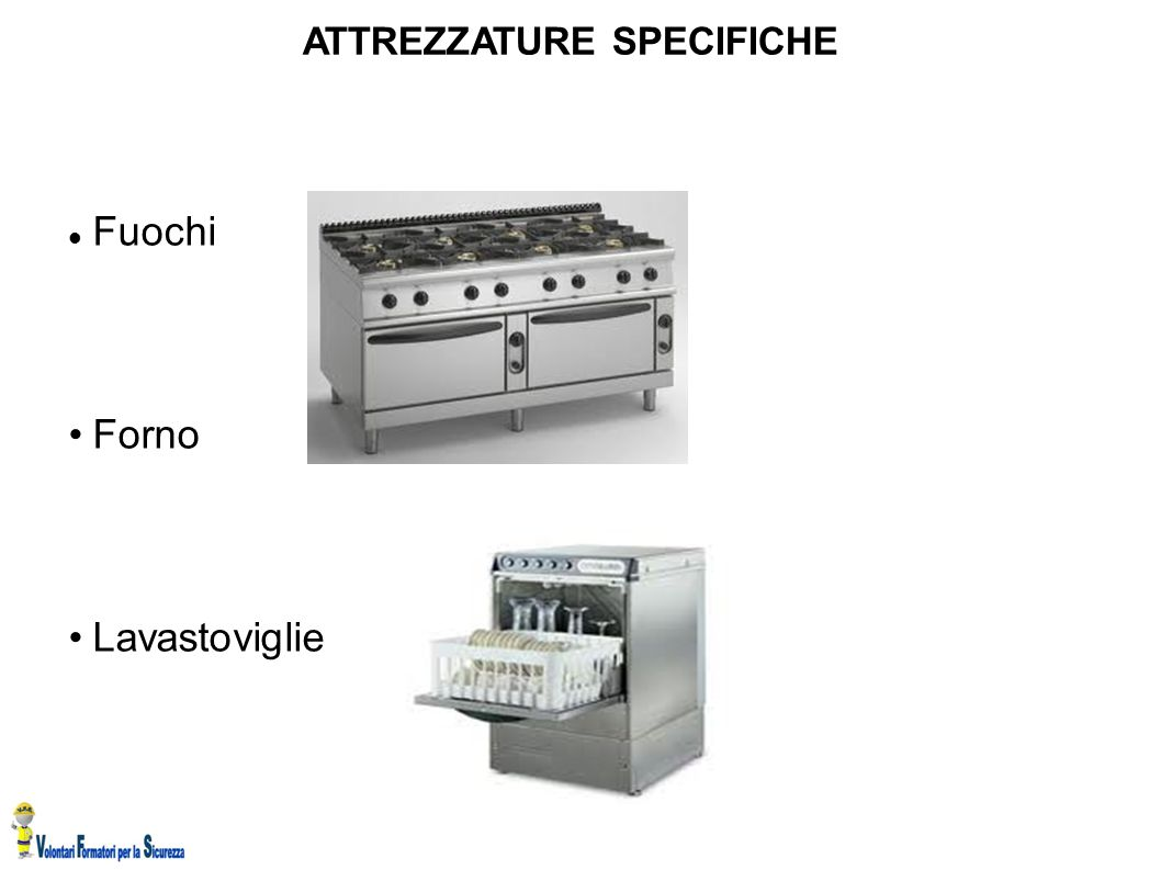 ATTREZZATURE SPECIFICHE