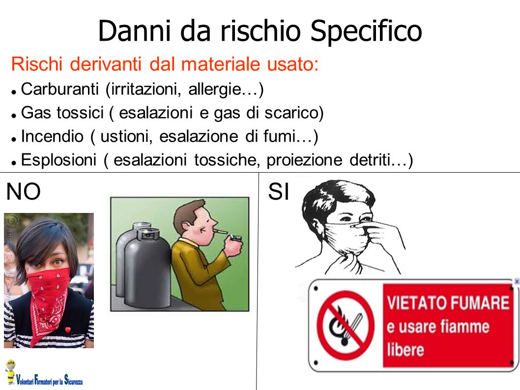 Danni da rischio Specifico