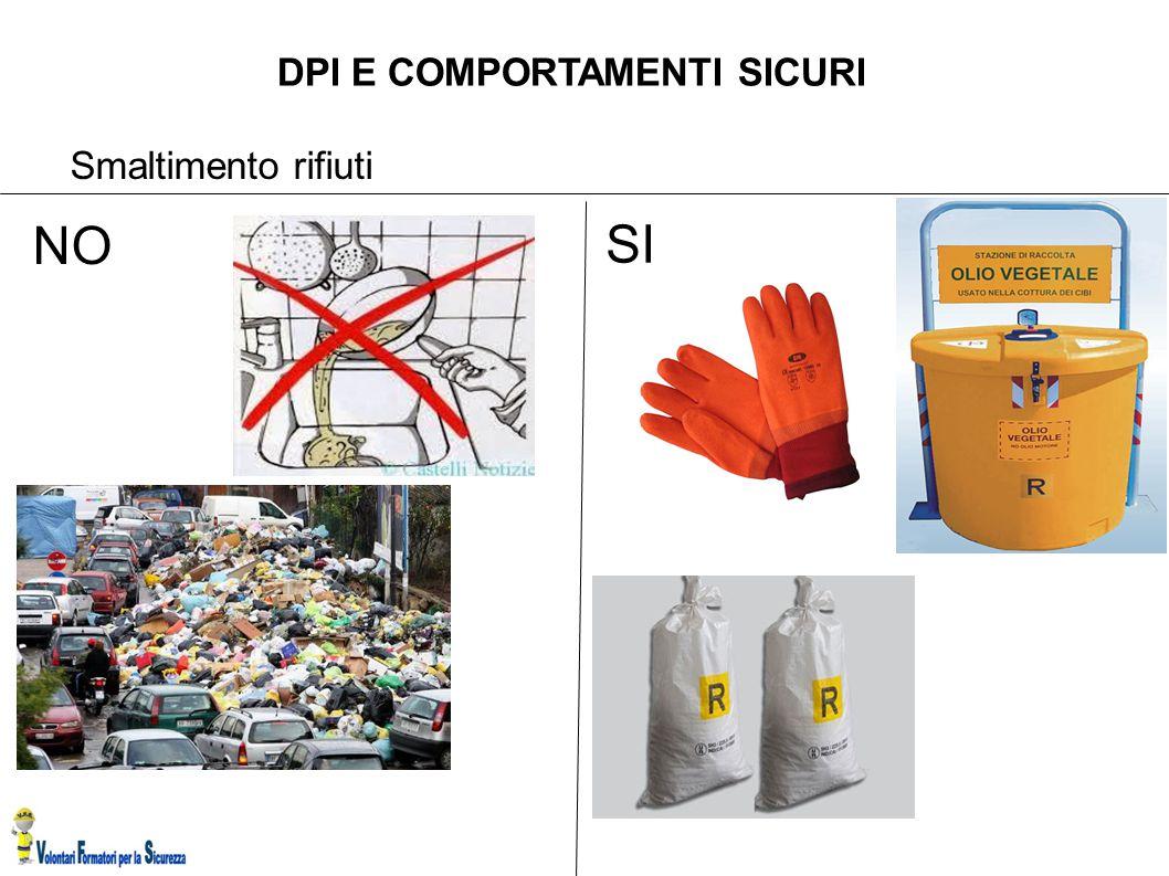 DPI E COMPORTAMENTI SICURI