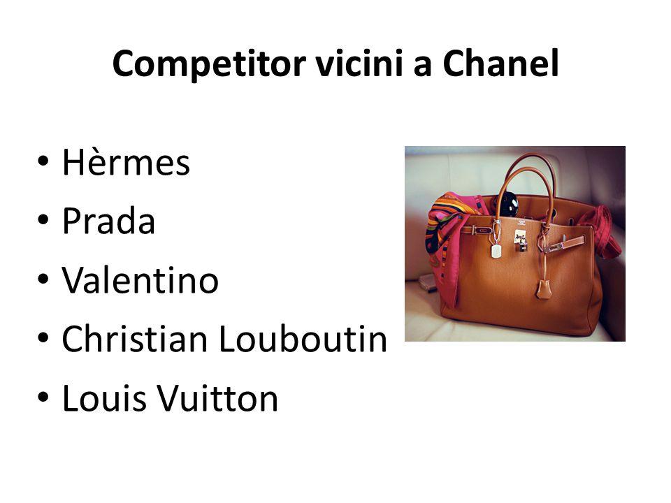 Competitor vicini a Chanel