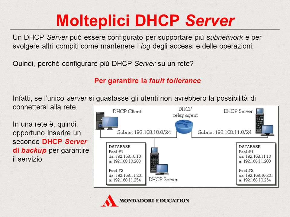 Molteplici DHCP Server