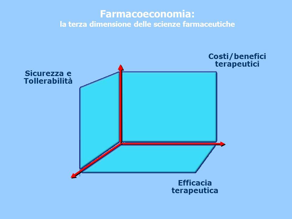 Farmacoeconomia: la terza dimensione delle scienze farmaceutiche