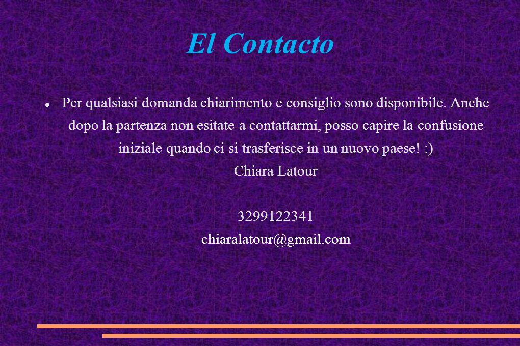 El Contacto