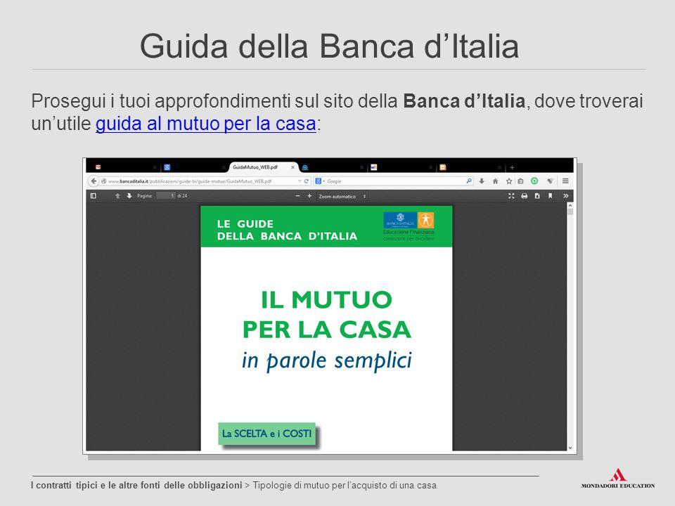 Guida della Banca d'Italia