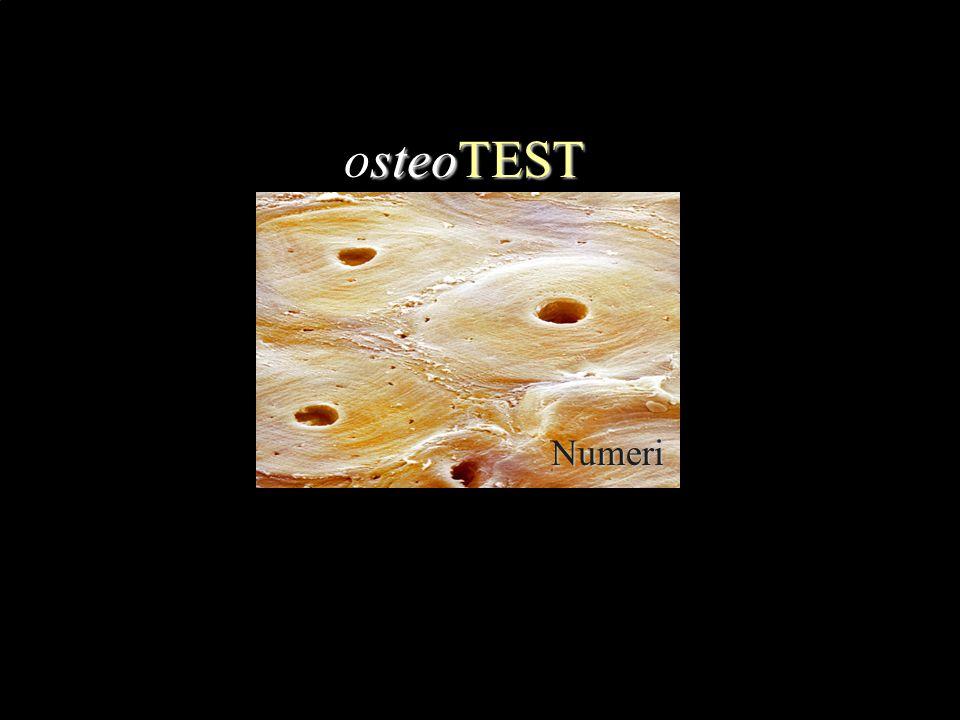 osteoTEST Numeri