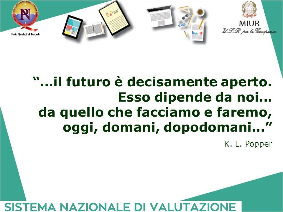 …il futuro è decisamente aperto. Esso dipende da noi…