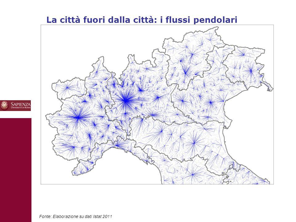 La città fuori dalla città: i flussi pendolari