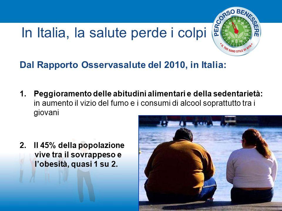 In Italia, la salute perde i colpi